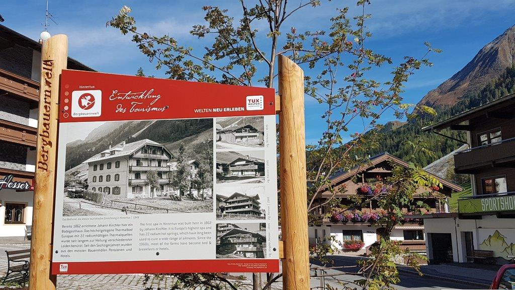 Themenweg Bergbauerrnwelt Tux | Edition Hubatschek